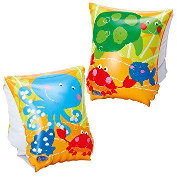 Bóia De Braço Inflável Infantil Peixinhos Natação Praia 5163-3 - Intex