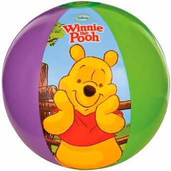 Bola Inflável Ursinho Pooh 51cm Infantil Piscina Praia 6046-0 - Intex