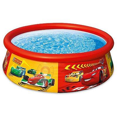 Piscina Carros Easy Set 886 Litros Infantil Praia 7892-3