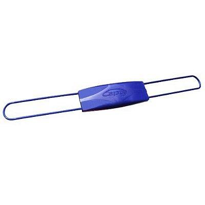 Antena Capte - Safira Passiva 12 Db- Tubular Azul Brilhante (Vhf/Uhf E Digital) Montada - Caixa Kraft - 371