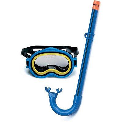 Kit de Mergulho Infantil Aventura Óculos Respirador 5797-3 - Intex