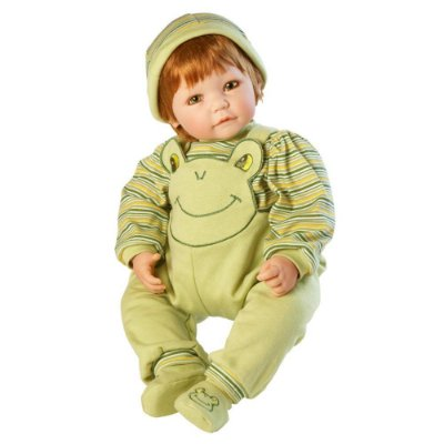 Boneca Adora Doll Bebê Realista Menino Froggy Fun Boy