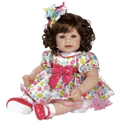 Boneca Adora Doll Bebê Realista Menina Seeing Spots