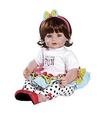 Boneca Adora Doll Bebê Realista Menina Circus Fun