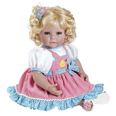Boneca Adora Doll Bebê Realista Menina Chick-Chat