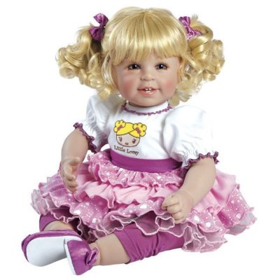 Boneca Adora Doll Bebê Realista Menina Little Lovely