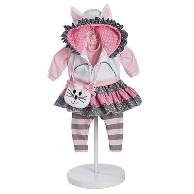Roupa Boneca Adora Doll Bebê Realista Menina The Cats Meow