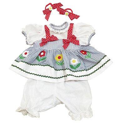 Roupa Boneca Adora Doll Bebê Realista Menina Daisy Delight