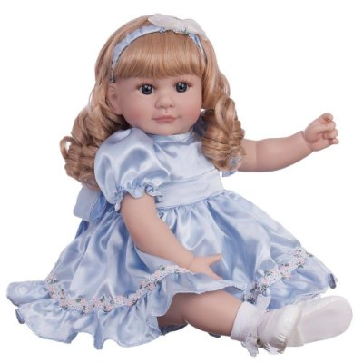 Boneca Laura Doll Bebê Realista Menina Little Princess
