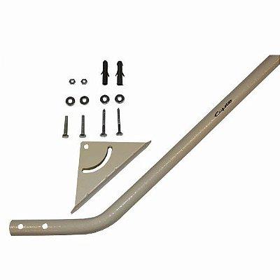 Mastro Articulável 80cm Para Antenas De Parede Laje - Capte