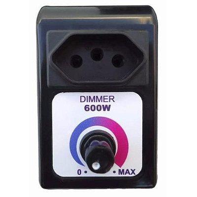 Dimmer Universal Controle de Velocidade Aparelhos Eletrônicos 600w - Capte