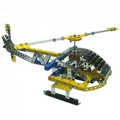 Helicóptero Motorizado Brinquedo Montar Robótica - Modelix