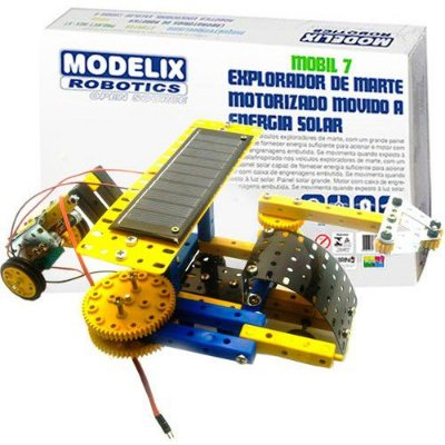 Explorador de Marte Energia Solar Brinquedo Robótica - Modelix