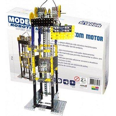 Elevador com Motor Brinquedo Montar Robótica - Modelix
