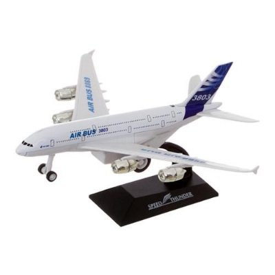 Avião Miniatura Air Bus 1:400 Brinquedo Infantil 8869-26