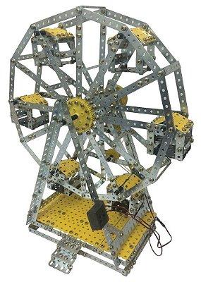 Roda Gigante Brinquedo de Montar Educativo Robótica - Modelix