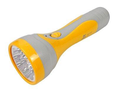 Lanterna 9 Leds  Recarregável Bateria 3229 - NSBAO