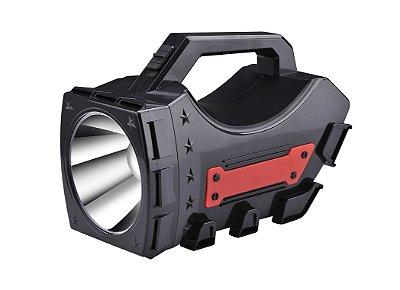 Lanterna Holofote Sinalizador Alça Recarregável 5526- NSBAO