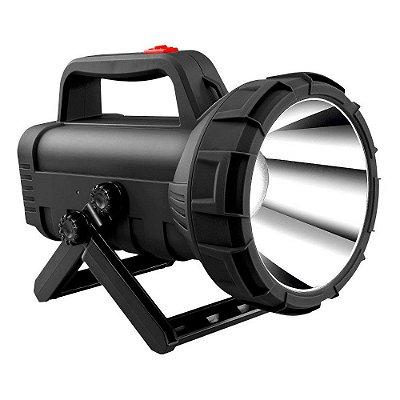 Lanterna Holofote Sinalizador Alça Recarregável 5704 - NSBAO