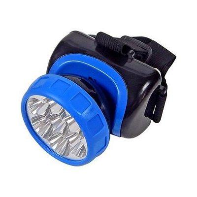 Lanterna de Cabeça 7 LEDs Sinalizador Recarregável YG-3584 NSBAO