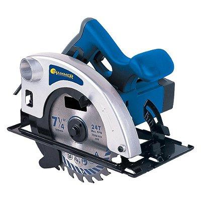 Serra Circular 100% Rolamentada 1400w Sc1400 - Hammer