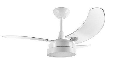 Ventilador de Teto Branco 110v Buzios Plafon Led 01-1174 - Tron