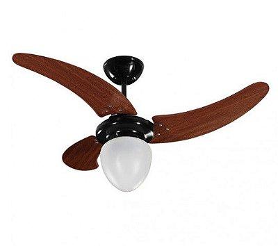 Ventilador de Teto Preto 110v Buzios Max 3 pás 01-0820 - Tron