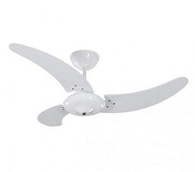 Ventilador de Teto Branco 220v Buzios 3 pás 130W 01-0823 Tron