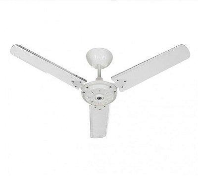 Ventilador de Teto 110v Eco San 3 Pás Branco 01-1011 Tron