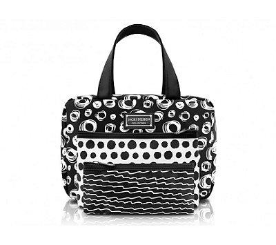 Kit de Bolsas c/ 3 Pçs Bolsa Feminina Casual Pop Art AHL16006 - Jacki Design