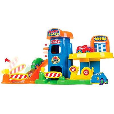 Baby Posto Gasolina Lava Rápido Brinquedo Infantil 512 - BigStar