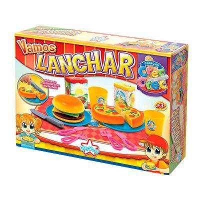 Crec Crec Vamos Lanchar Brinquedo Cozinha 343 - Big Star