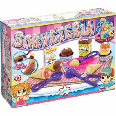 Sorvete Crec Crec Sorveteria Brinquedo Menina 344 - Big Star