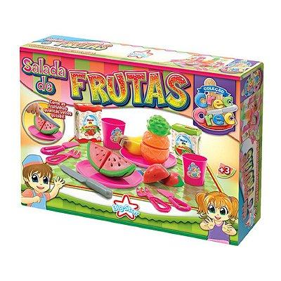 Crec-crec Salada De Frutas Brinquedo Cozinha 346 - Big Star