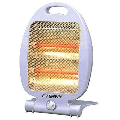Aquecedor de Ambiente Elétrico 220v Portátil Pequeno 800w - Eterny