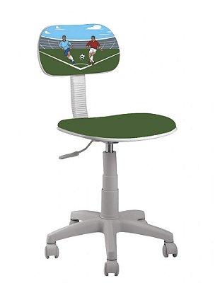 Cadeira Giratória Infantil Futebol Escritório UM05002 - Umobili