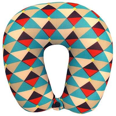 Travesseiro De Pescoço Almofada Viagem Colors Ys09008 - Yins