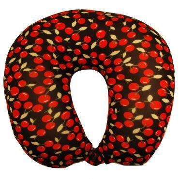 Travesseiro De Pescoço Almofada Viagem Estampado Cereja Ys09012 - Yins