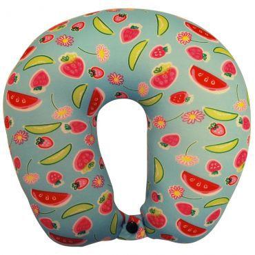 Travesseiro De Pescoço Almofada Viagem Colors Ys09013 - Yins