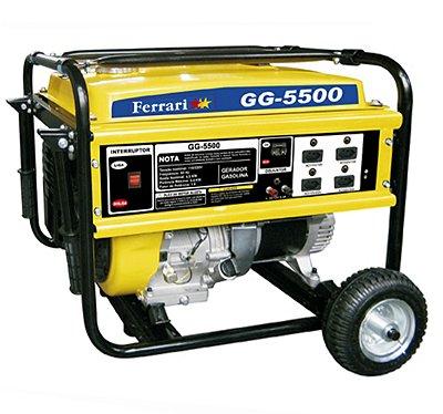 Gerador de Energia à Gasolina GG4 5500w Bivolt - Ferrari