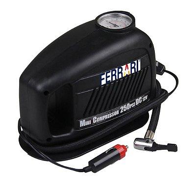 Mini Compressor de Ar Turbo Air 12V MCTA-12 - Ferrari