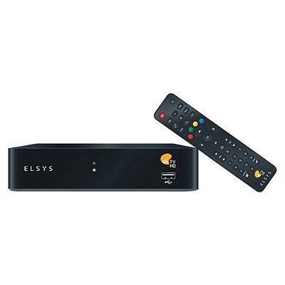 Receptor Oi Tv Livre ETRS37 - 67 Canais 5 Em HD - Elsys
