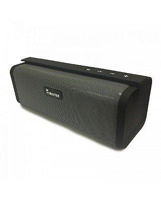 Caixa de Som Bluetooth 10W Portátil FM USB SO331 - Kimaster