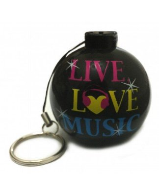 Mini Caixa de Som Portátil P2 Celular 2w Love Music IC5002