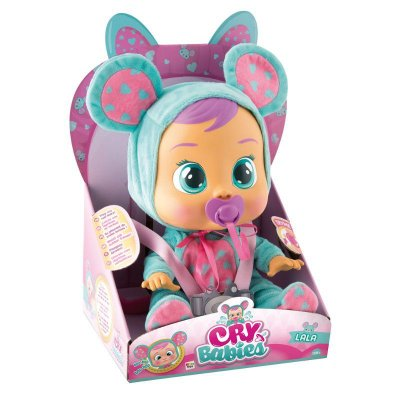 Boneca Bebê Cry Babies Lala Brinquedo Infantil BR527 - Multikids