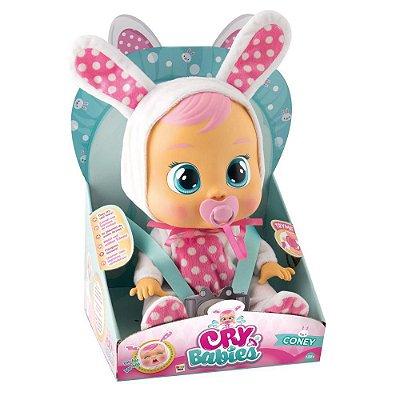Boneca Bebê Cry Babies Coney Brinquedo BR528 - Multikids