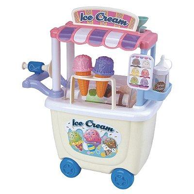 Cozinha Infantil Cheff Food Truck Sorveteria BR578 Creative Fun