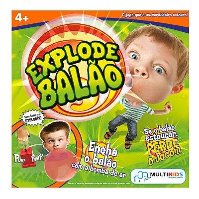 Brinquedo Jogo Sorte Explode Balão BR209 - Multikids