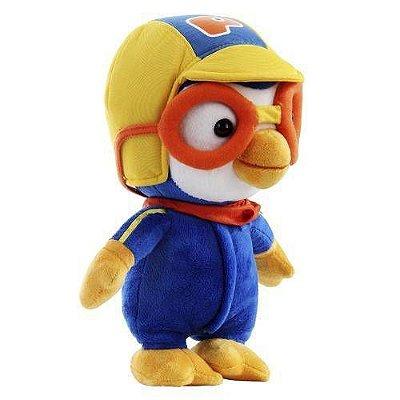 Brinquedo Infantil Boneco de Pelúcia Pororo Br533 - Multikids