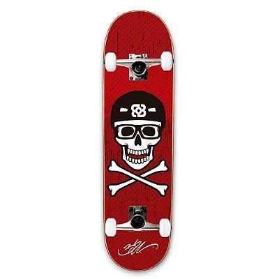Skate Street Profissional Bob Burnquist Caveira ES074 Long